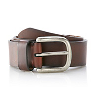 Levi's® Men's Brown 38MM Hand Bartack Leather Belt