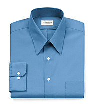 Van Heusen® Men's Petrol Blue Long Sleeve Solid Dress Shirt