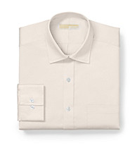 MICHAEL Michael Kors® Men's Cream Long Sleeve Twill Dress Shirt
