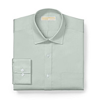 MICHAEL Michael Kors® Men's Sea Grass Green Long Sleeve Solid Dress Shirt