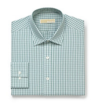 MICHAEL Michael Kors® Men's Sage Long Sleeve Check Pattern Dress Shirt