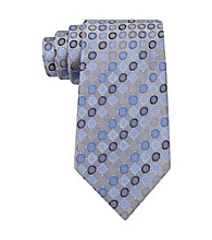 Kenneth Cole REACTION® Men's Purple Vezzo Dot Silk Tie