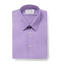 Calvin Klein Men's Iris Long Sleeve Slim Fit Dress Shirt