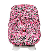 The Bumble Collection Toddler Car Seat Cover - Peony Paradise
