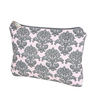 The Bumble Collection Multi-Use Zipper Bag - Pink Filagree