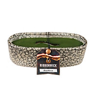 WoodWick® RibbonWick® Pebble Stone Candle