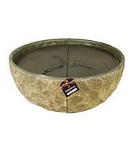 WoodWick® Ribbonwick Round Courtyard Grand Outdoor Candle