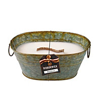 WoodWick® RibbonWick® Verdegris Tin Greenhouse Candle