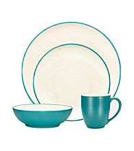 Noritake Colorware 4-pc. Turquoise Coupe Place Setting
