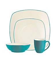 Noritake Colorware 4-pc. Turquoise Square Place Setting