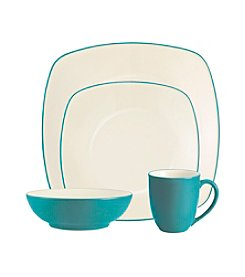 Noritake Colorwave 4-pc. Turquoise Square Place Setting