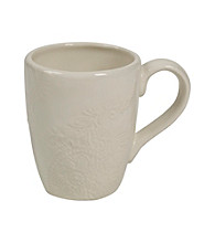 Gallery® Cream Paisley Mug