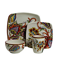 Gallery® Desiree 4-pc. Square Place Setting