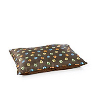John Bartlett Pet Chocolate Paw Print Pet Bed