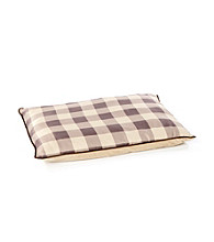 John Bartlett Pet Tan Buffalo Check Pet Bed