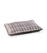 John Bartlett Pet Grey Tartan Plaid Pet Bed