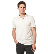 Perry Ellis® Men's Stone Short Sleeve Irridescent Polo