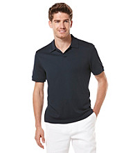 Perry Ellis® Men's Eclipse Short Sleeve Open Collar Polo