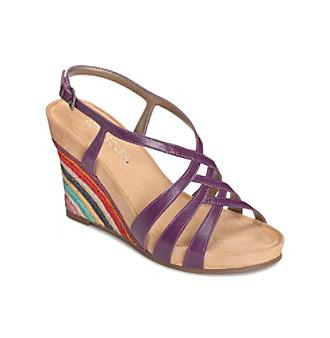 Aerosoles Shoes, Lemon Plush Wedge Sandals Women's Shoes