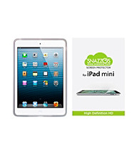 Snazzos® iPad® Mini Silicone Case with HD Screen Protector and Stylus