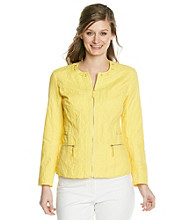 Laura Ashley® Petites' Laced Collar Jacket