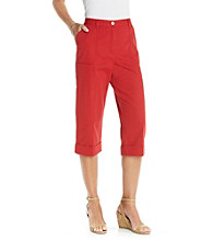 Alfred Dunner® Patch Pocket Capri