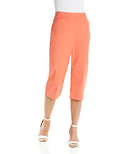 Alfred Dunner® Embroidered Capri