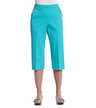 Breckenridge® Flat Front Pull On Capris