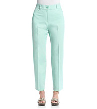 Studio Works® Petites' Fashion Twill Pants