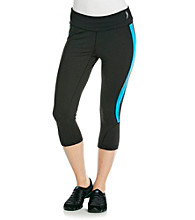 Exertek® Fitted Running Cropped Pants