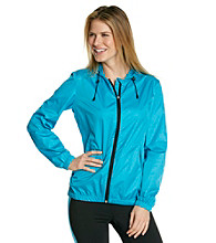 Exertek® Packable Hooded Water Repellant Windbreaker