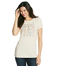 Ruff Hewn Short Sleeve Crewneck Braided Side Graphic Tee
