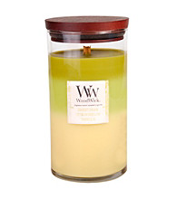 WoodWick® 18-oz. Sweet Pear and Sweet Toffee Layered Candle