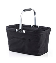 LivingQuarters Black Shopping Basket