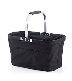 LivingQuarters Black Shopping Basket