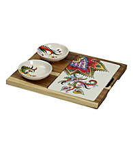 Gallery® Desiree 4-pc. Bowl and Tray Set