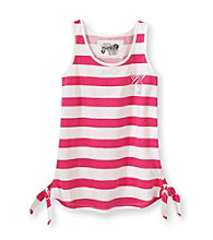 Mambo® Girls' 7-16 Striped Side Tie Tank