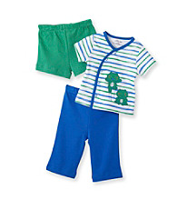 Kids Headquarters® Baby Boys' Blue 3-pc. Happy Frogs Set