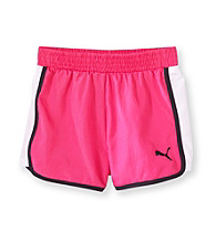 PUMA® Girls' 2T-6X Colorblock Shorts