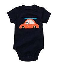 Carter's® Baby Boys' Navy Car Applique Bodysuit