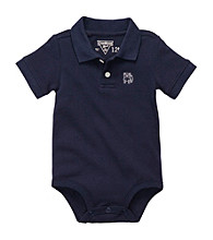 OshKosh B'Gosh® Baby Boys' Navy Pique Polo Bodysuit