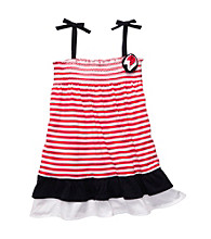 OshKosh B'Gosh® Baby Girls' Red/White Striped Knit Dress