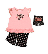Baby Essentials® Baby Girls' Pink 2-pc.