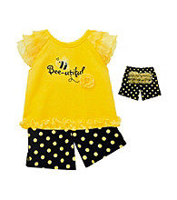 Baby Essentials® Baby Girls' Yellow/Black
