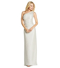 Cachet® One-Shoulder Cocktail Dress
