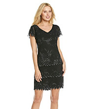 J Kara® Tiered Hem Short Dress