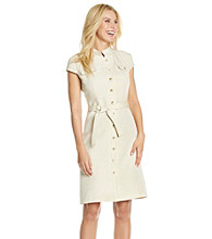 Tahari by Arthur S Levine® Safari Dress