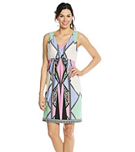 Oneworld® Gateway Print Short Dress