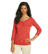 Lucky Brand® Sundance Connie Top