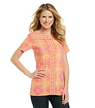 Rafaella® Multi Colored Print Tunic
